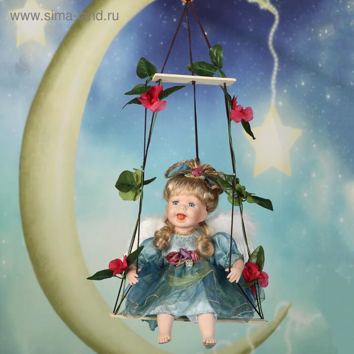 """Кукла коллекционная """"Маленькая Дея на качели"""""""