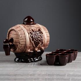 """Бочка для вина """"Виноград"""" 3,5 л"""