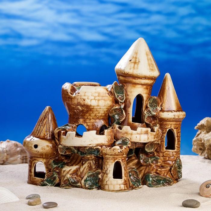 """Декорации для аквариума """"Крепость"""" микс"""