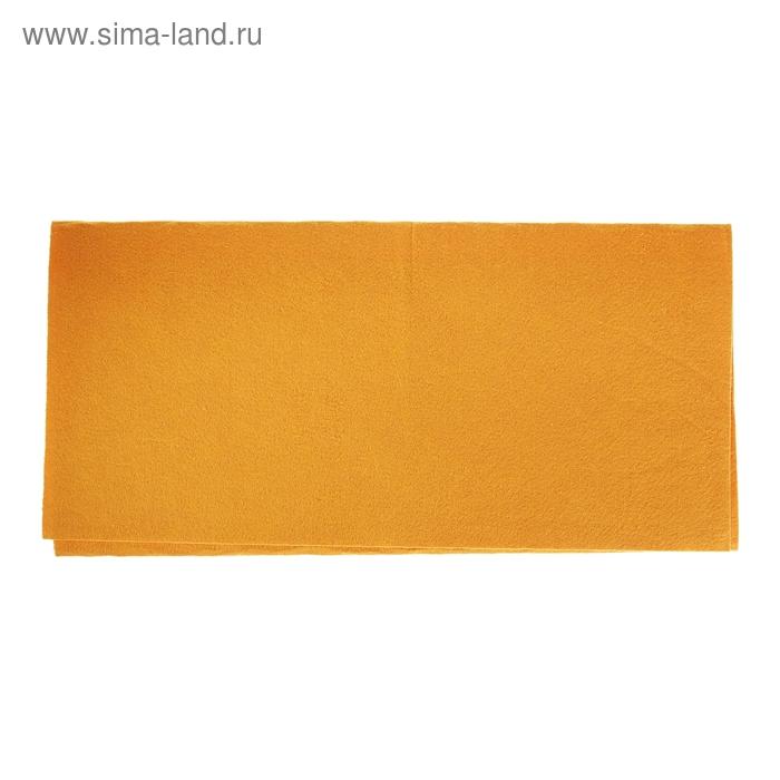 Тряпка для мытья пола, цвет оранжевый