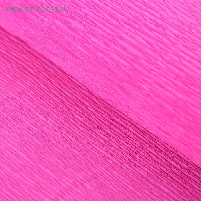 Бумага гофрированная 570 светло-малиновая, 50 см х 2,5 м