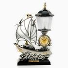 """Часы-светильник с будильником """"Корабль с парусами"""", от 220v"""