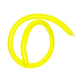 Шар для моделирования 160, набор 100 шт., цвет жёлтый