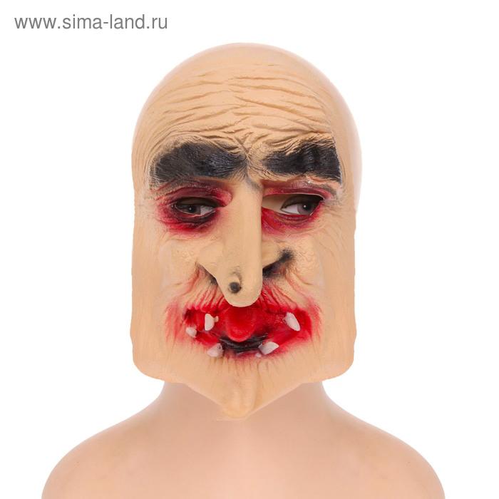 "Карнавальная маска ""Баба-яга"", латекс"