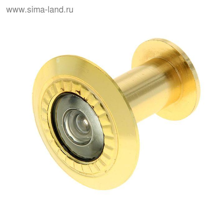 Глазок дверной 2P205, L= 35-60 мм, d=16 мм, цвет золото