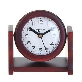 """Часы """"Дерево, Круг"""" на вращающейся подставке, сосна"""