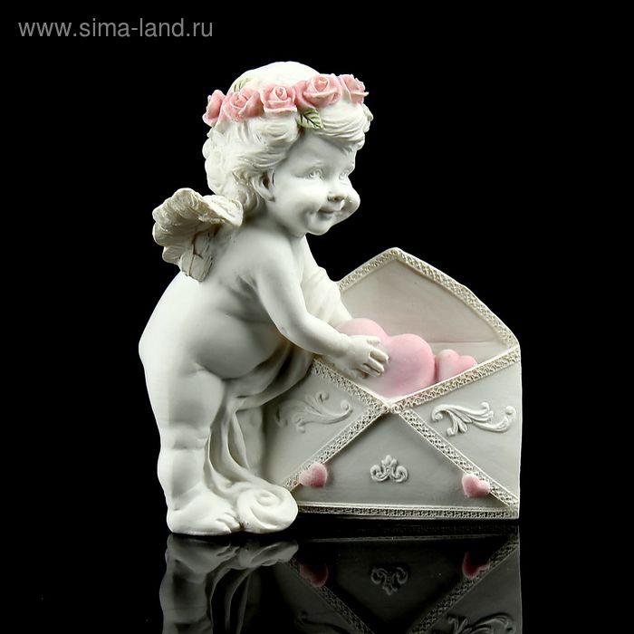 """Сувенир """"Ангелочек с письмом валентинок"""""""