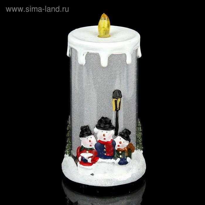 """Сувенир """"Новогодняя свеча"""" световой"""