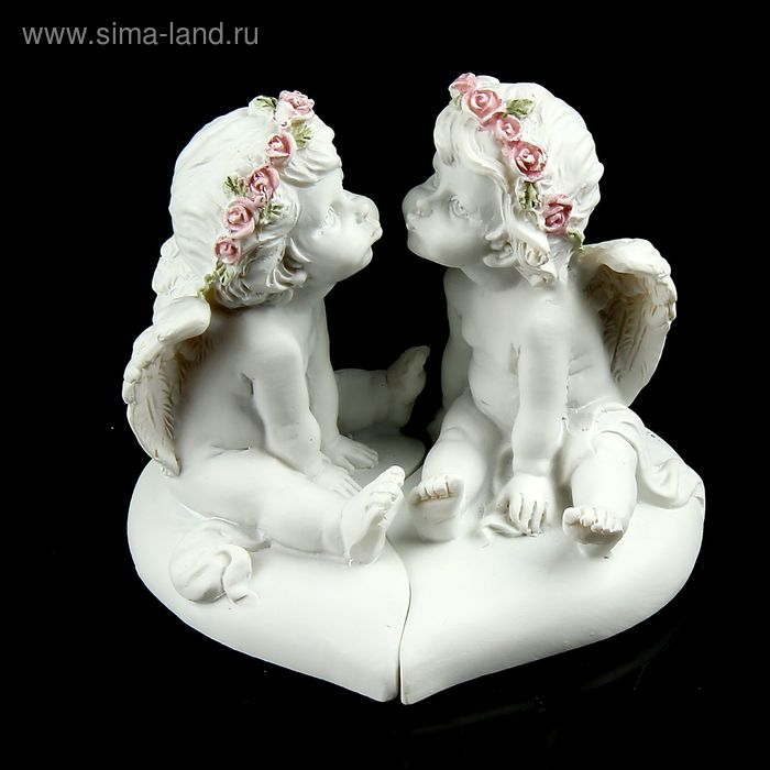 "Сувенир ""Ангелочки поцелуйчики"" набор 2 шт"