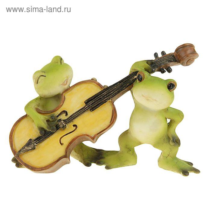 "Сувенир - миниатюра ""Лягушата. Спой мне"""