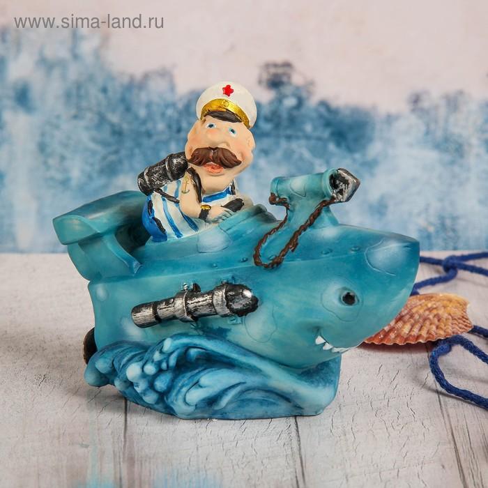 """Копилка """"Моряк в подводной лодке"""""""