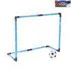 """Ворота футбольные """"Весёлый футбол"""", сетка, мяч d=12 см, размер ворот 65х26,5х52 см"""