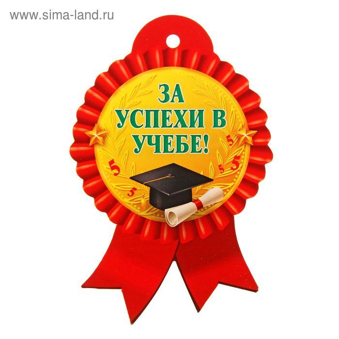 """Медаль """"За успехи в учебе"""", красная"""