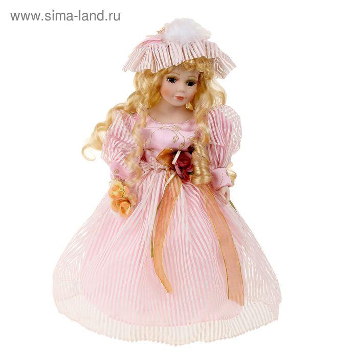"""Кукла коллекционная """"Ксения с букетом"""""""