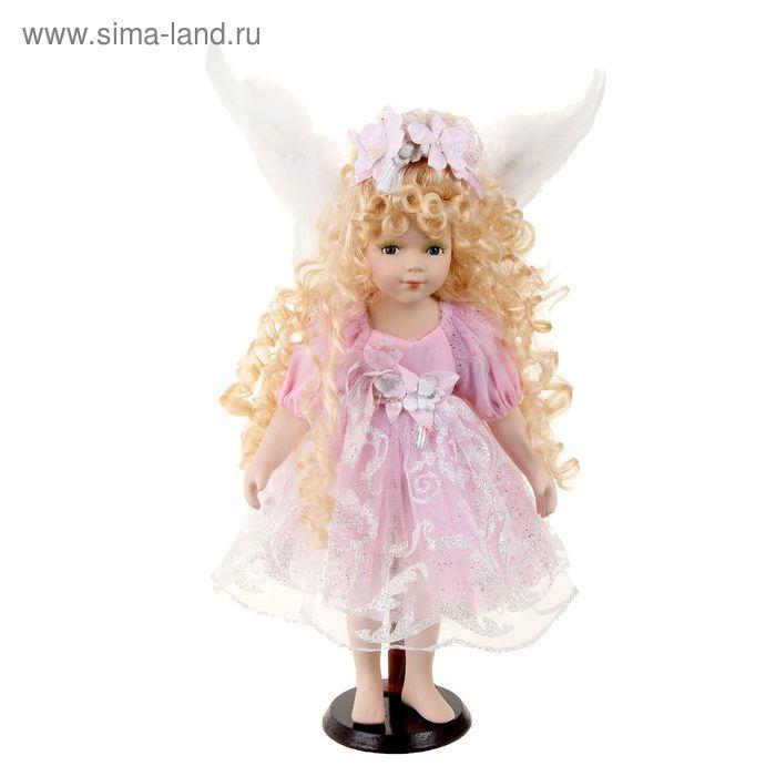 """Кукла коллекционная """"Ангелок Леся"""""""
