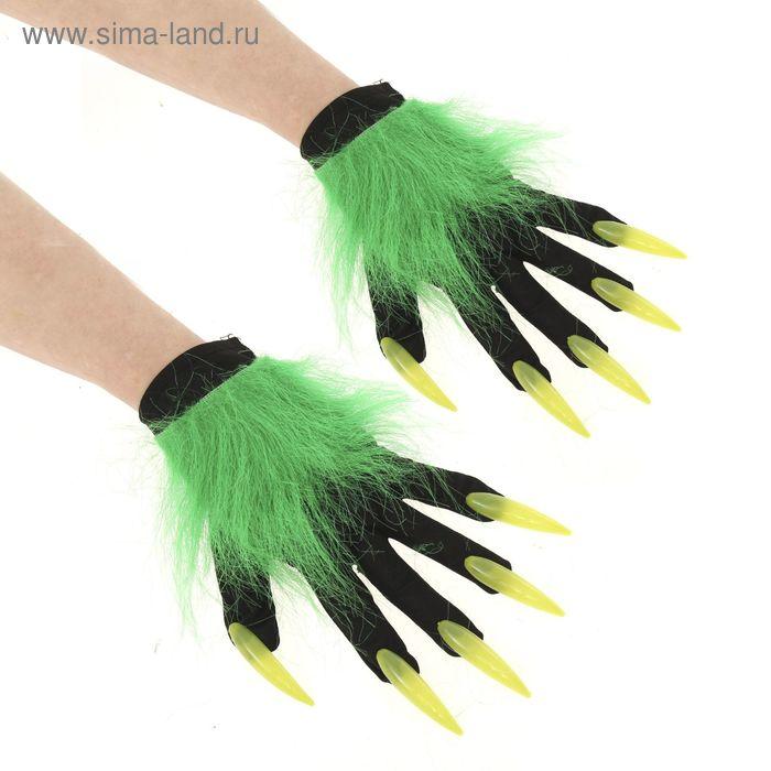 Карнавальные перчатки с когтями