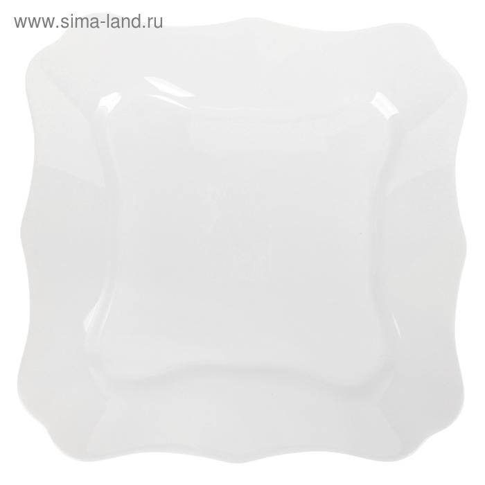 Тарелка десертная 20,5 см Authentic White