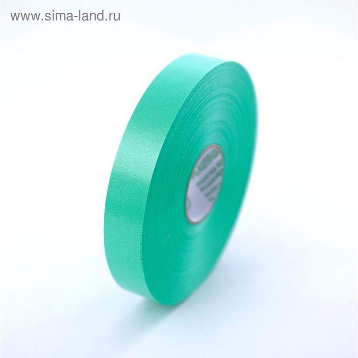 Лента для упаковки подарков, зеленая, 2 см х 100 м