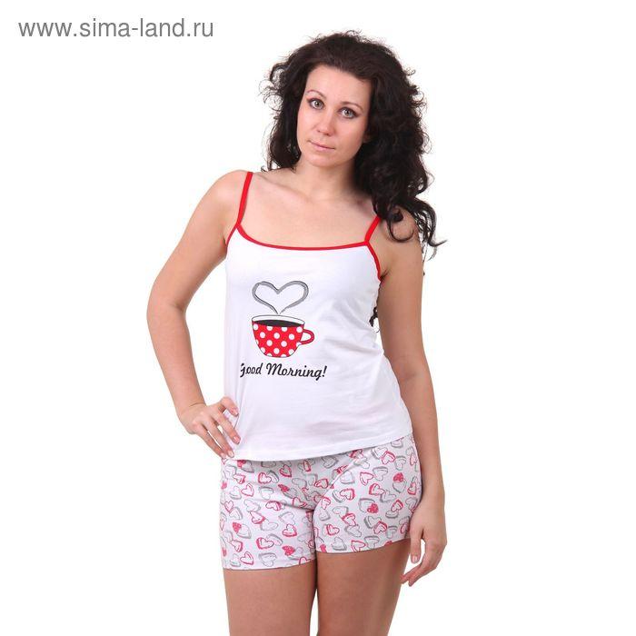 Пижама женская (топ, шорты) W GM101, р-р 50