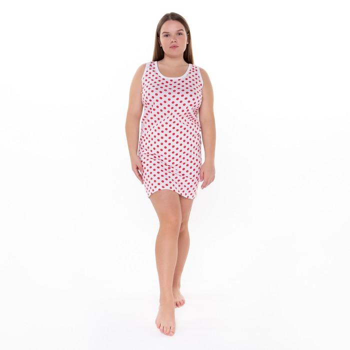 """Сорочка """"Бабушкина"""", размер 56, цвет микс"""