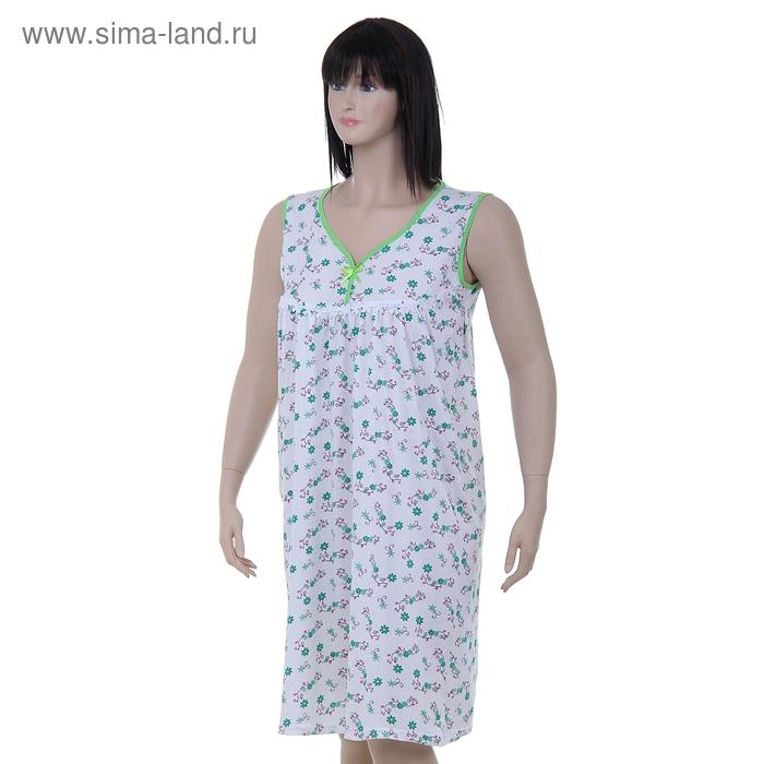 Сорочка женская LS 01-006 МИКС, р-р 52