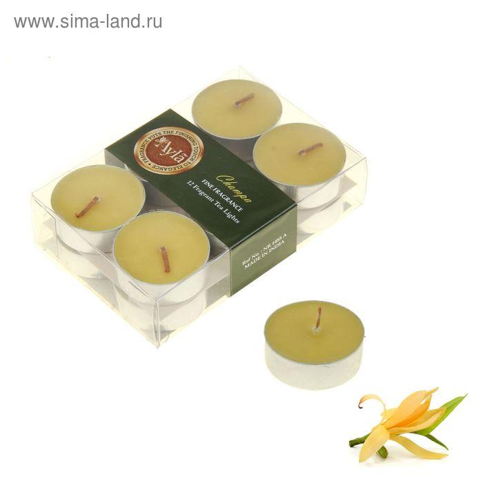 Свечи арома (набор 12 шт) Чампа
