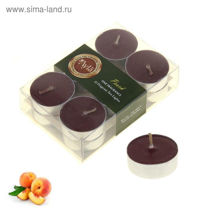 Свечи арома (набор 12 шт) Персик