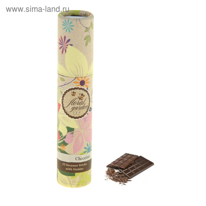 Благовония Масала 25 палочек с подставкой Шоколад
