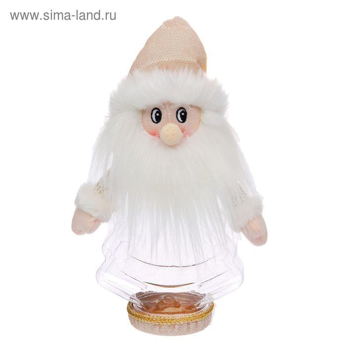 """Подарочная упаковка """"Дед Мороз"""", мохнатая борода, 320 г"""