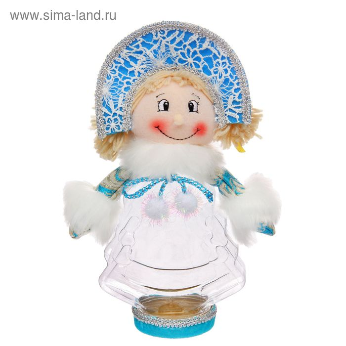 """Подарочная упаковка """"Снегурочка в кокошнике"""", 320 г"""