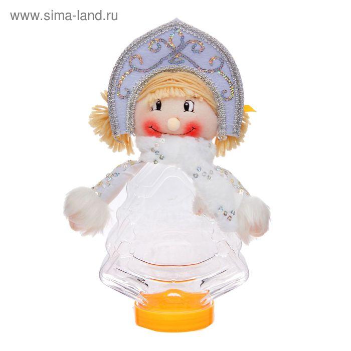 """Подарочная упаковка """"Снегурочка с шарфиком"""", 320 г"""