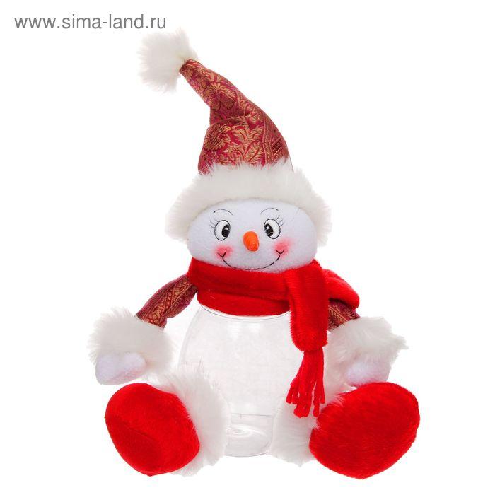 """Подарочная упаковка """"Снеговик с ножками"""", 320 г"""