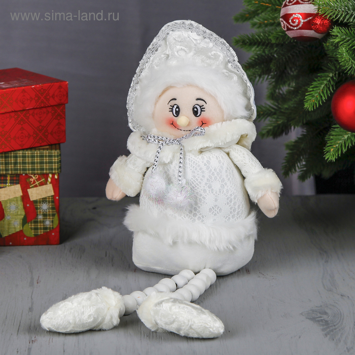 """Мягкая игрушка """"Снегурочка"""" (кружевная)"""