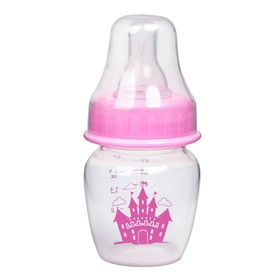 Бутылочка для кормления «Замок принцессы», 60 мл, от 0 мес., цвет розовый Ош