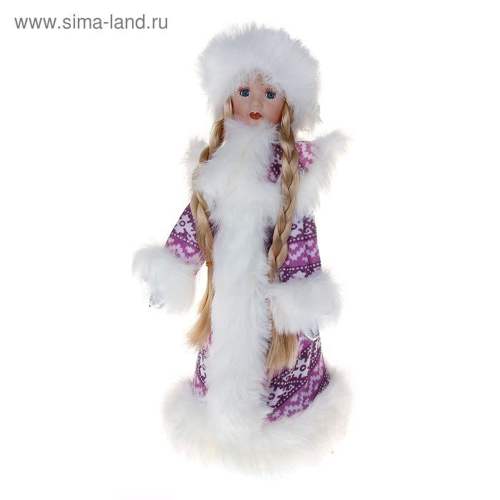 Снегурочка-конфетница, в фиолетовом
