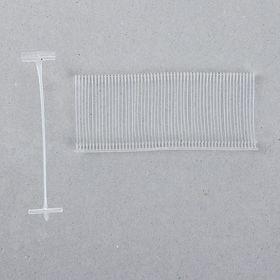 Набор соединителей пластиковых для пистолета-маркиратора 5000шт, длина 3,5см, для стандартных игл