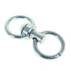 Вертлюг бычий с кольцом, общая длина 11,3см, диаметр кольца 5,3см, толщина проволоки 0,9 см