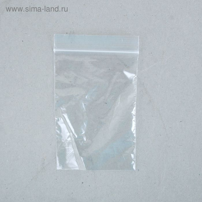 Пакет zip lock 7 х 10 см