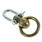 Вертлюг бычий со скобой, общая длина 10,5 см, диаметр кольца 5,4 см, толщина проволоки 0,7