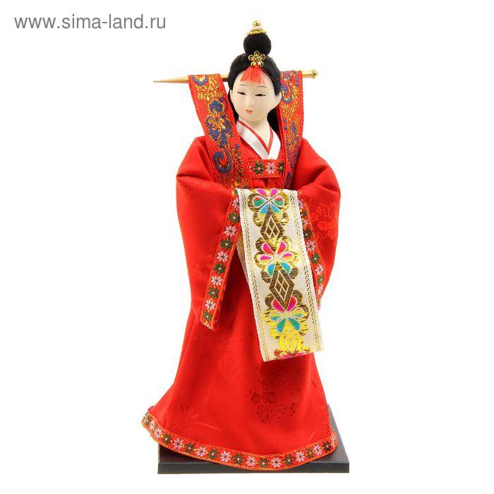 """Кукла коллекционная """"Японка в национальном праздничном костюме"""""""