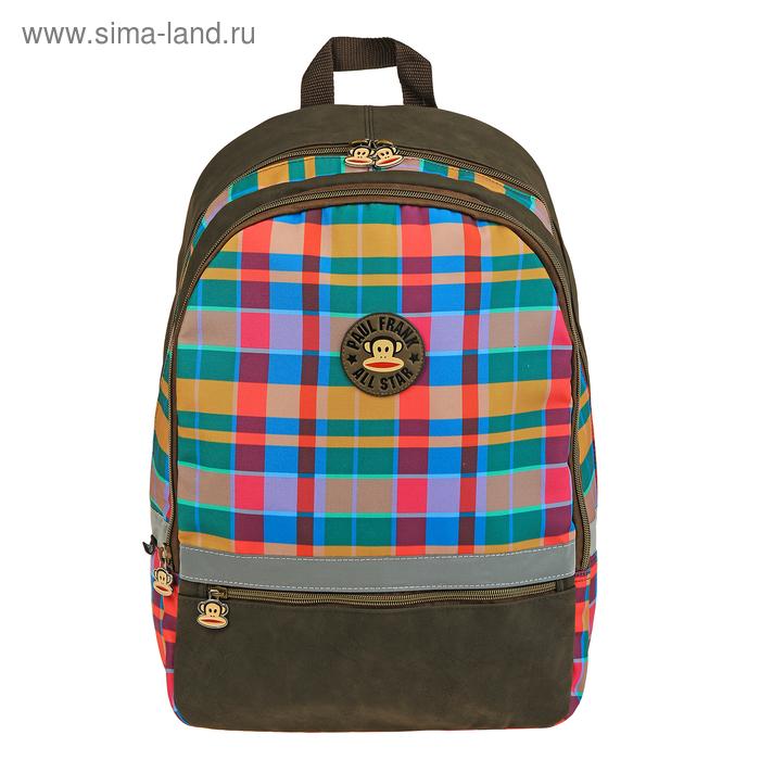 Рюкзак молодежный Paul Frank 44*30*13, черный