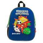 Рюкзак каркасный Angry Birds 36*28*12, эргономичная спинка для мальчика, синий