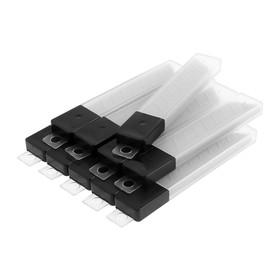 Лезвия для ножей TUNDRA basic, сегментированные, 18х0.4 мм, 10 наборов по 10 лезвий