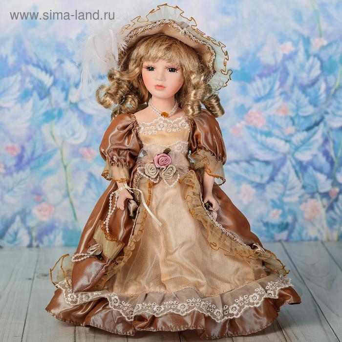 """Кукла коллекционная """"Вирджиния с сумочкой"""""""