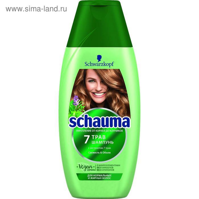 """Шампунь для волос Schauma """"7 трав"""", 225 мл"""