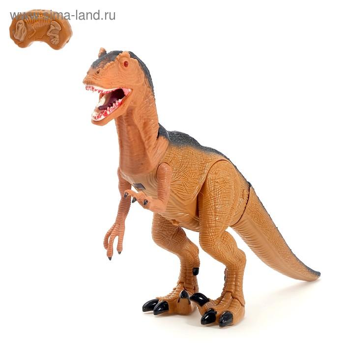 """Животное радиоуправляемое """"Динозавр"""", световые и звуковые эффекты"""