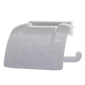 Держатель для туалетной бумаги, цвет мраморный Ош