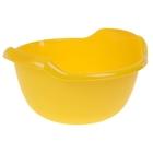 Таз 24 л, цвет желтый
