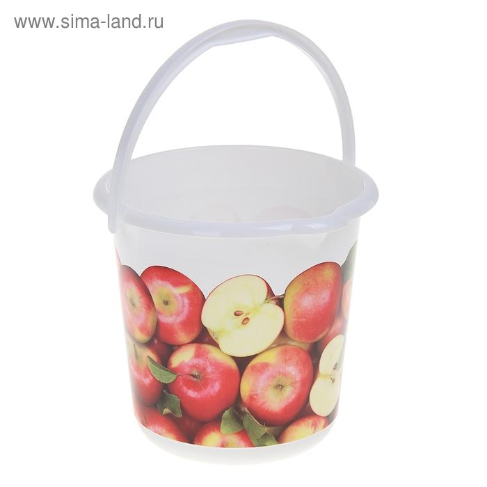 """Ведро 5 л """"Деко. Яблоки"""""""
