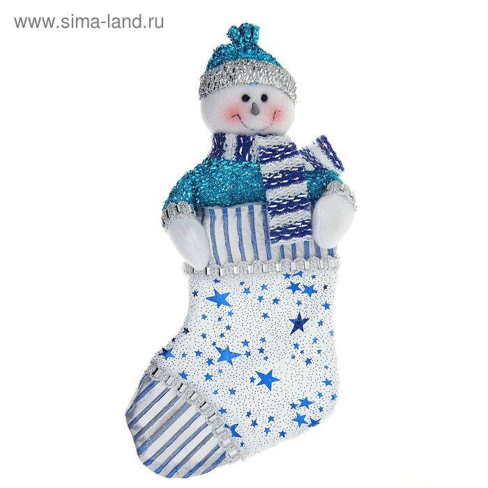 "Носок для подарка ""Снеговик звездочёт"""